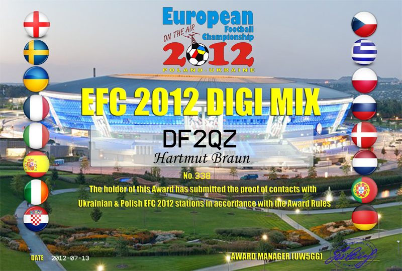 EFC 2012 GOLD - Digimix No.338