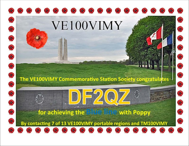 VE100IMY-Blueline with Poppy